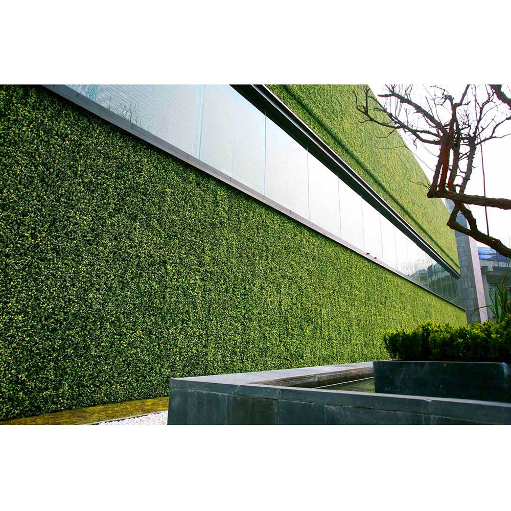Greensmart p neles y muros decorativos de follaje artificial for Muros verdes naturales