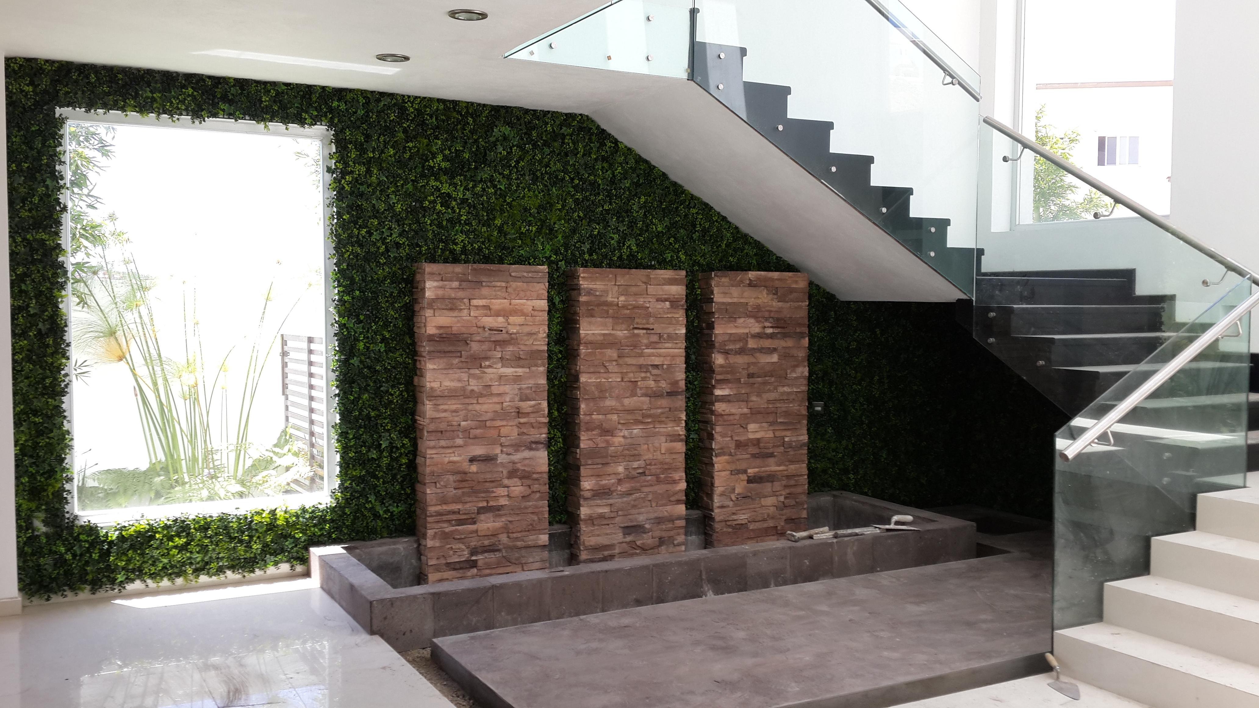 Portafolio greensmart p neles y muros decorativos de - Paneles decorativos exterior ...